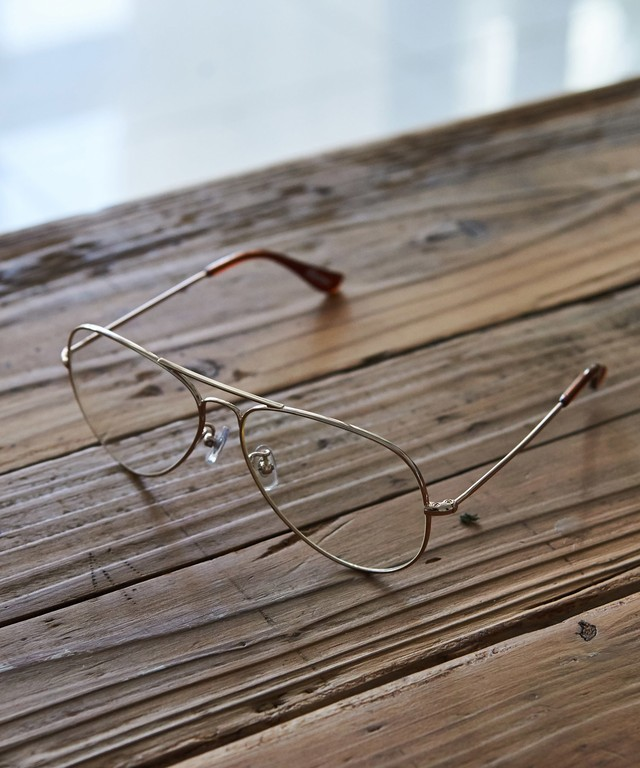 TEARDROP CLEAR GLASSES[REA084]