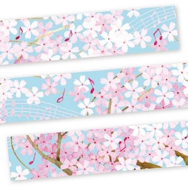 マスキングテープ 桜 15mm×7m