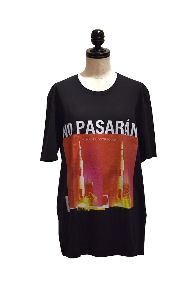 Passarella Death Squad / NO PASARÁN T-shirt / BLACK