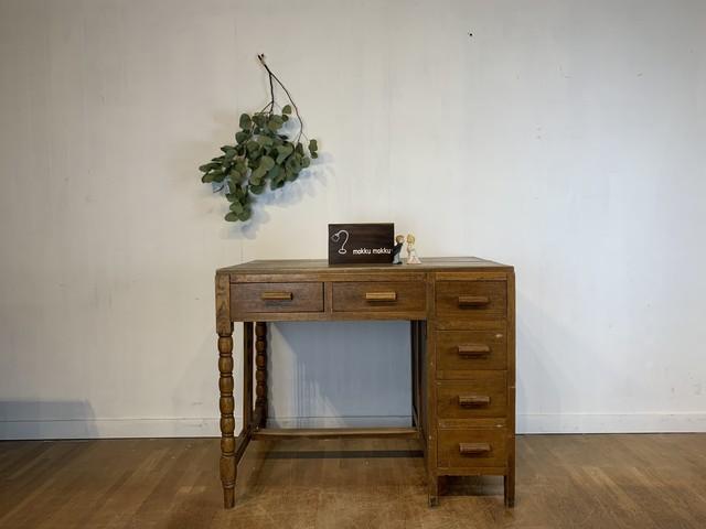 No.i65 木製の勉強机
