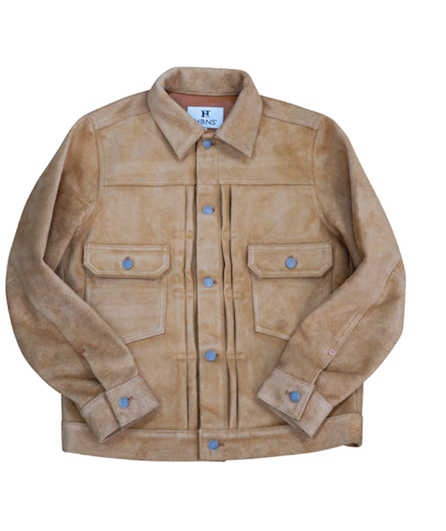 US SUEDE LEATHER JACKET