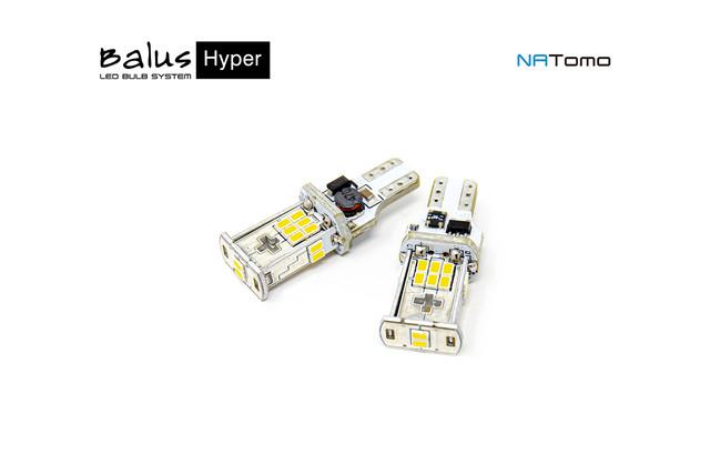 T16用 ハイパー LEDバルブセット / バックランプ専用 6500K  /  Balus