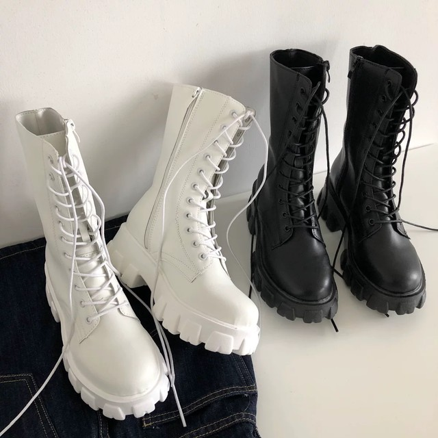 stylish simple boots