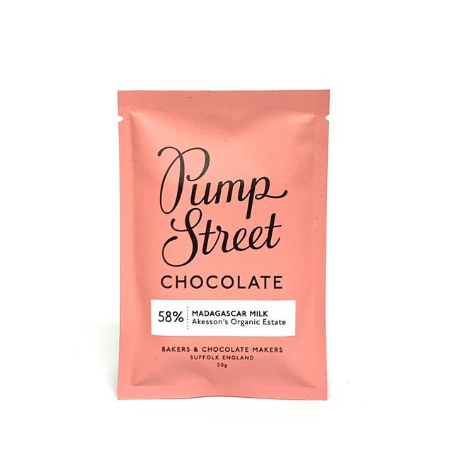 パンプストリートベーカリーチョコレート (ミニバー)マダガスカルミルク58%