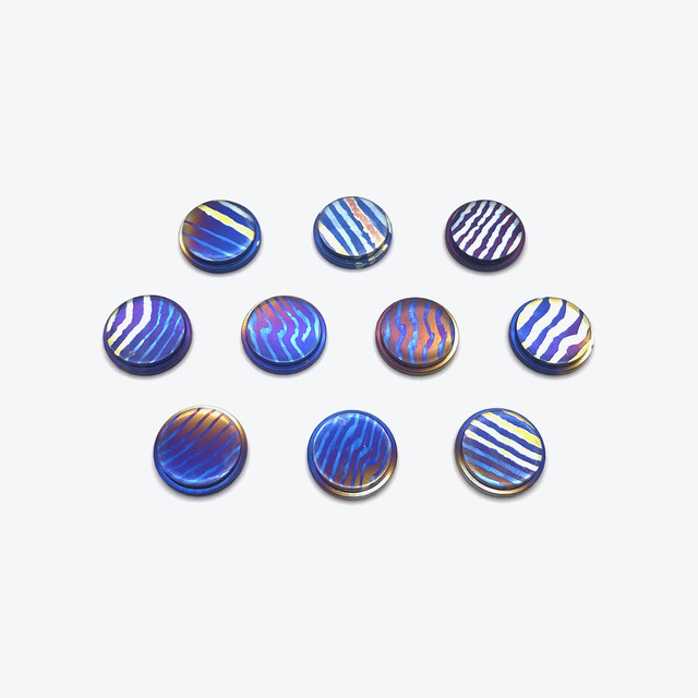 ANODIZED TITANIUM BB BUTTON (Type: A)