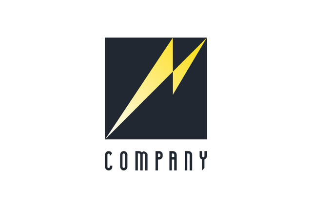 ロゴマーク|スピード感を表す雷・稲妻のコーポレート・ロゴを販売