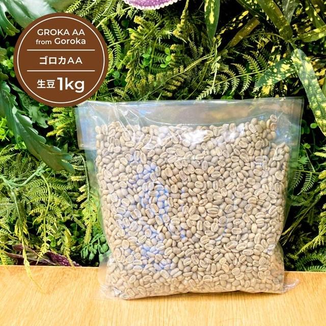 ゴロカAA 生豆 1kg