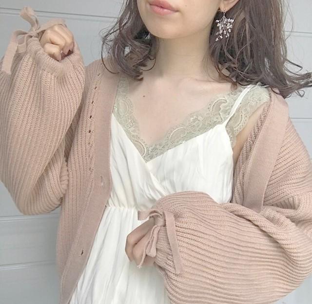 ribbon cardigan