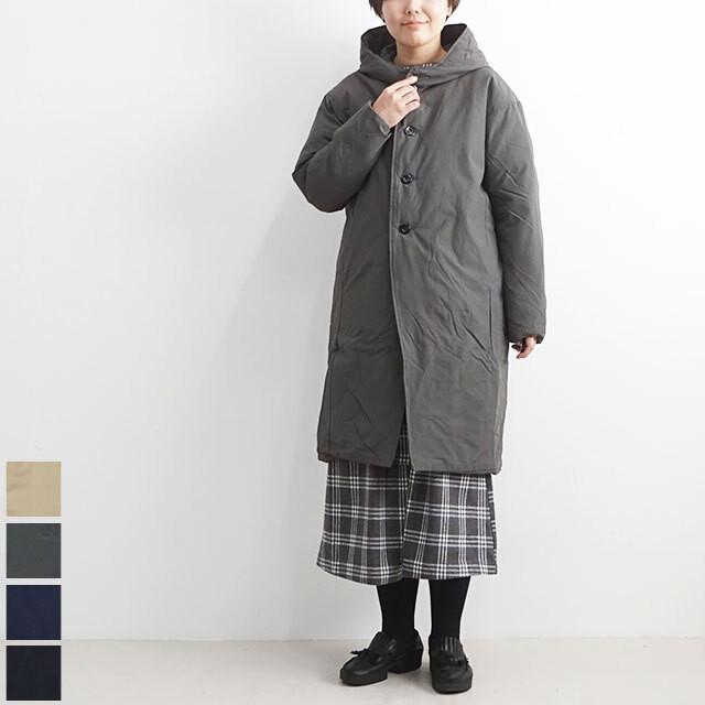 NARU ナル フードロングダウンコート 【返品交換不可】 (品番634103)