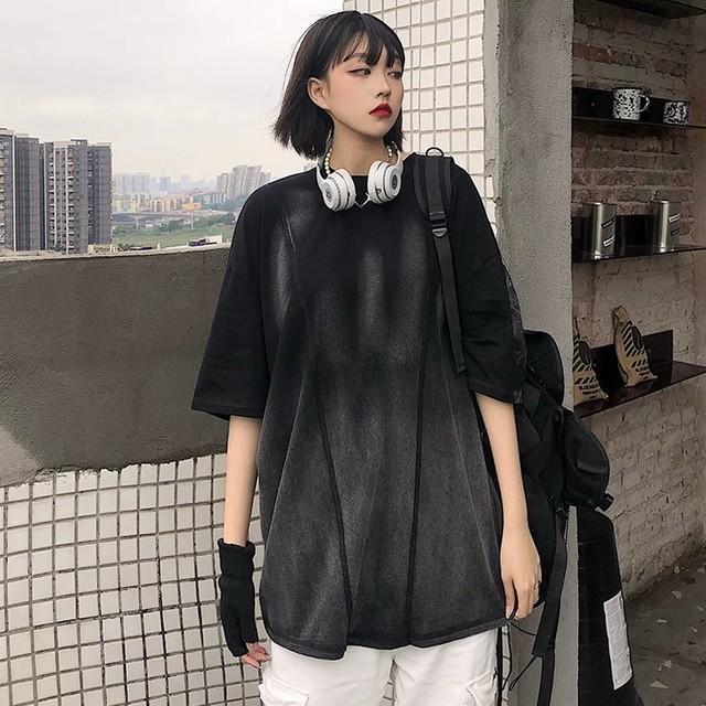 【トップス】ファッション無地ストリート系Tシャツ28934202