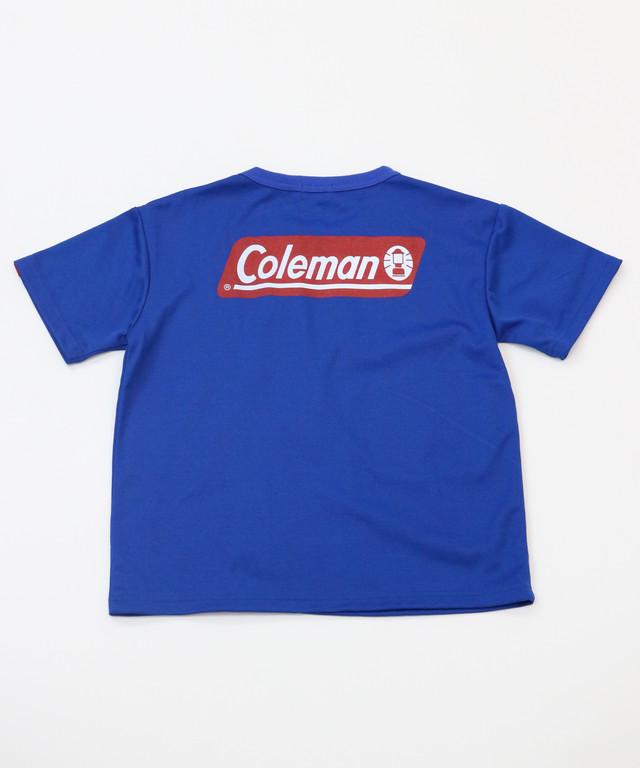 【Coleman】 前スリット半袖TEE