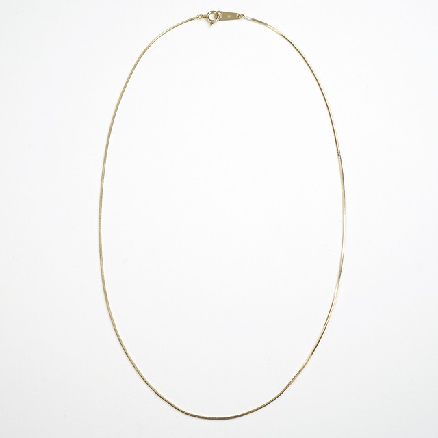 Legato choker necklace(gold)