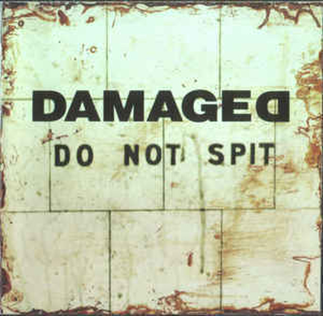 【USED】DAMAGED / DO NOT SPIT
