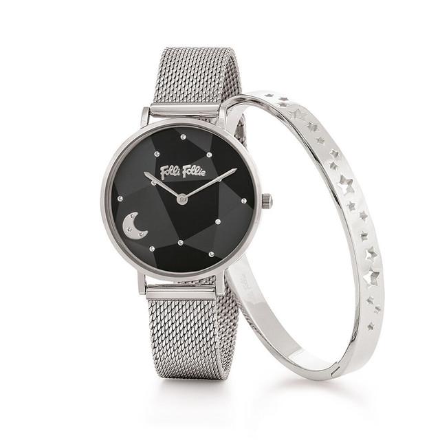RETRO TIME メッシュベルトウォッチ/腕時計
