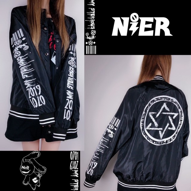 LIGHT BLOUSON JACKET【NieR CODE】