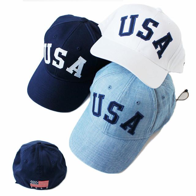 RonHerman ロンハーマン別注 POLO RALPH LAUREN 星条旗USAキャップ