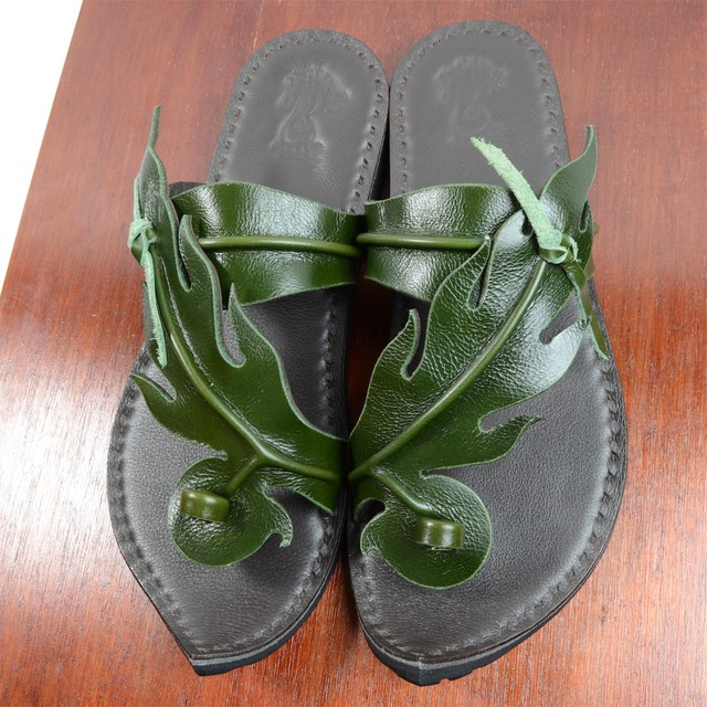 Fire Pattern Sandal (ファイアーサンダル) 27cm・グリーン