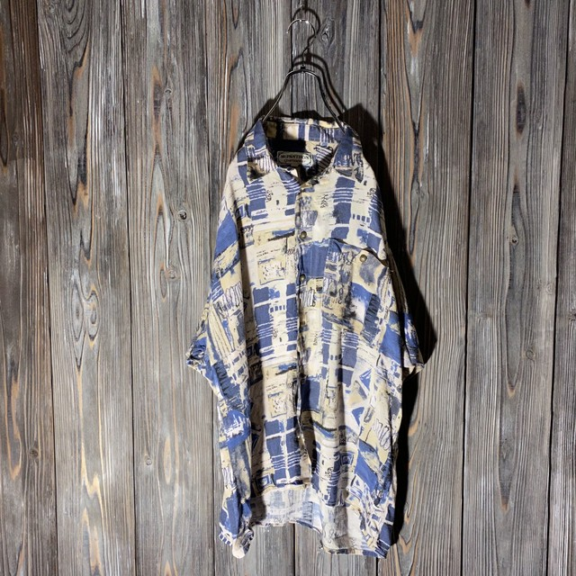 [used]wall pattern shirt