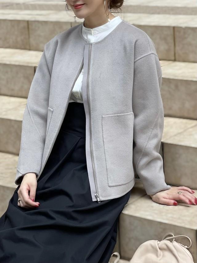 【予約】rever short coat / greige (11月上旬発送予定)