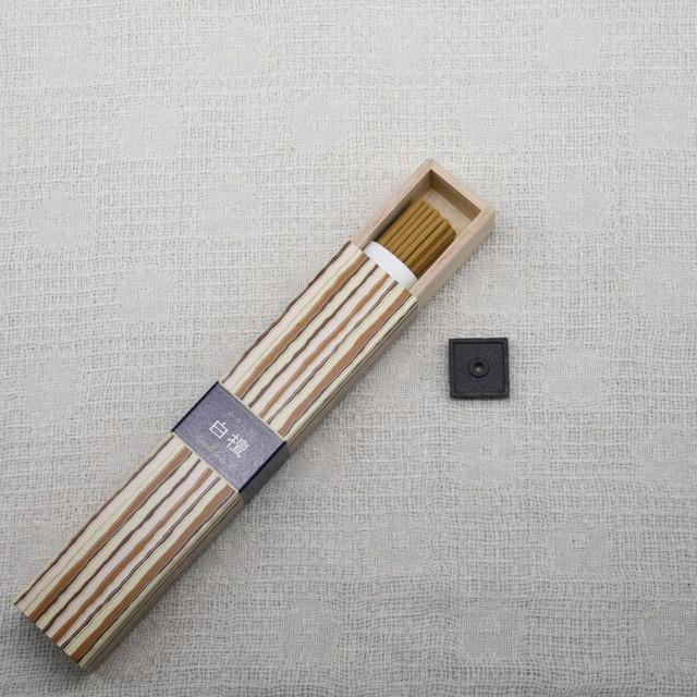 《定番・和のお香》白檀の香り(線香タイプ)|日本香堂 かゆらぎ