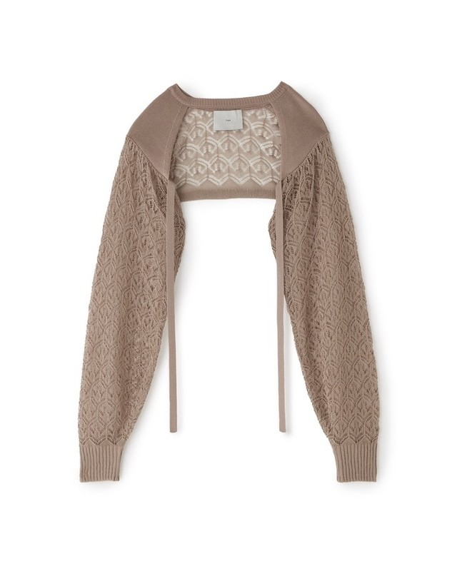 ANCHOR POINTALE L/S SLEEVE [BEIGE]