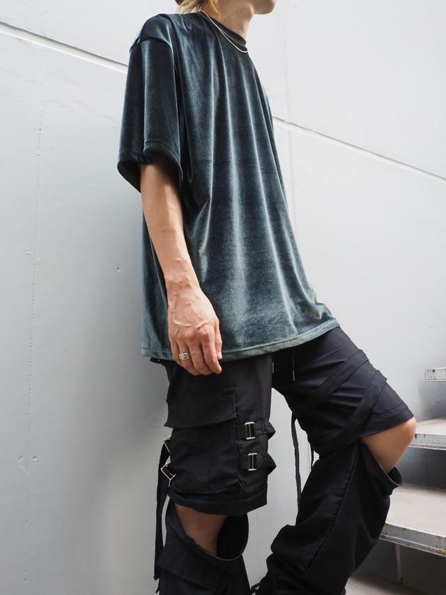【UNISEX - 1 size】VELVET TEE / Green