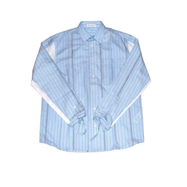 J.W.ANDERSON Drawstring C Block Stripe Shirt