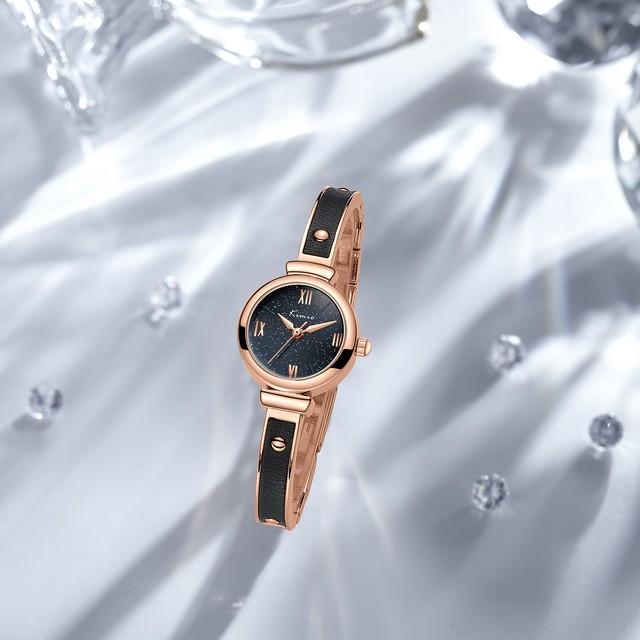 Kimio AF-Z1009 Imitate(Black) 腕時計 レディース