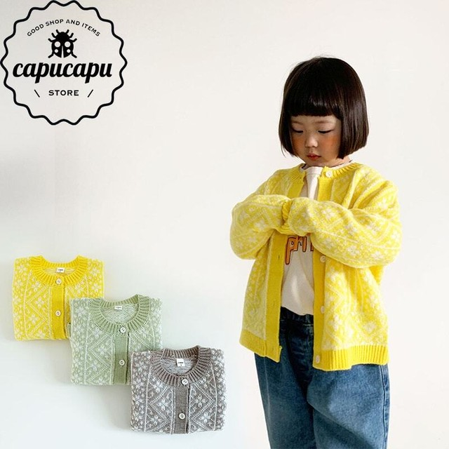 [sold out] spring flower cardigan 春の花柄 カーディガン