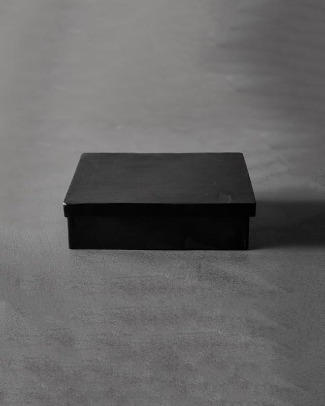 black iron box - rectangular small