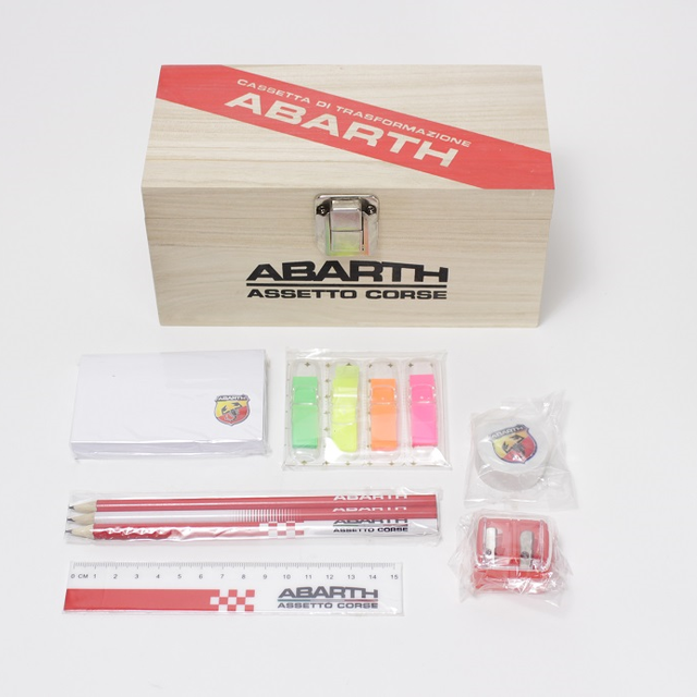 ABARTH SEAT BELT PAD SET