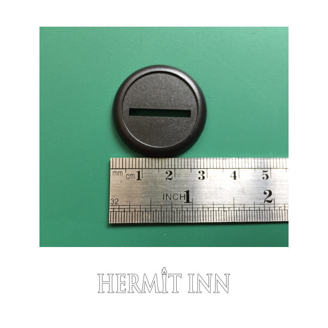 30ミリ プラ製 カマボコ型フチあり丸ベース(4枚) - メイン画像