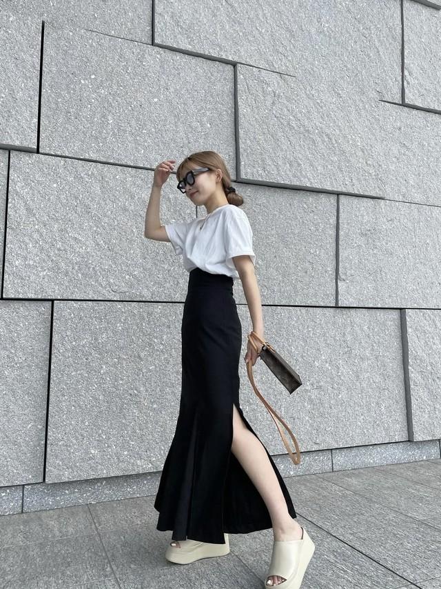 original mermaid skirt  - black -