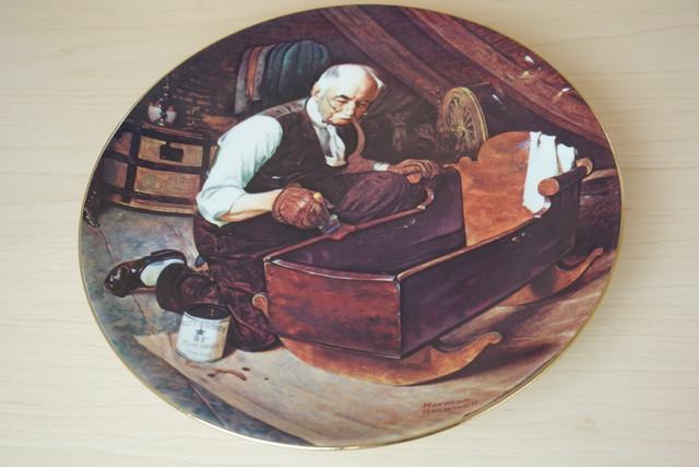 ノーマンロックウェル 絵皿(114-26)