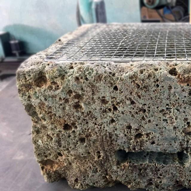 石乃炭火焼き鉢
