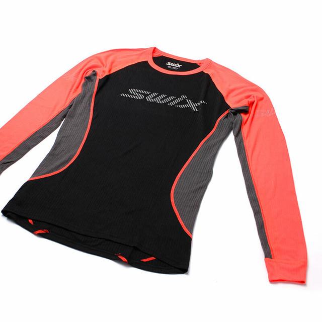 SWIX(スウィックス) レースX LS 長袖 メンズ 40601-90015 ベースレイヤー インナー スポーツ ジム トレーニング フィットネス ランニング ウェア