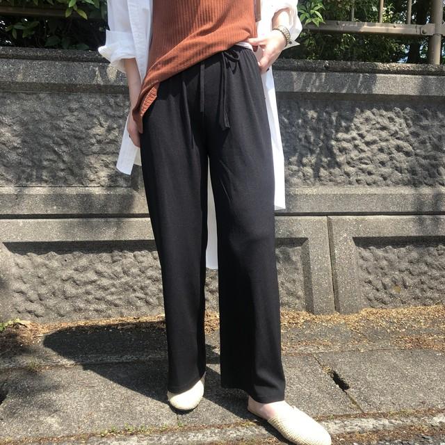 【 Days 】- 110-3186 - リブリラックスパンツ