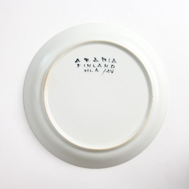 ARABIA アラビア Aurinkoruusu アウリンコルース ひまわり 200mm皿 - 5 北欧ヴィンテージ