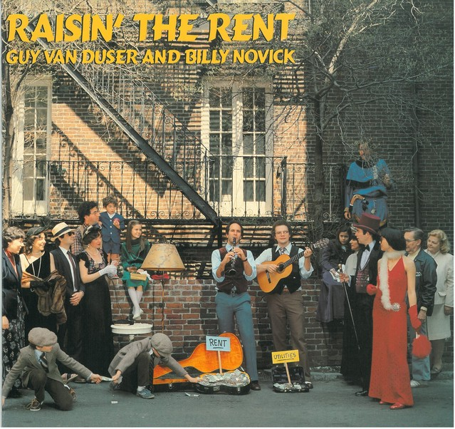 GUY VAN DUCER AND BILLY NOVICK / RAISIN' THE RENT (LP) CANADA盤