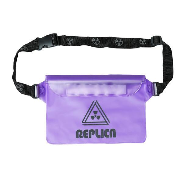 REPLICA / REPLICA PVC Hip Pack  Purple