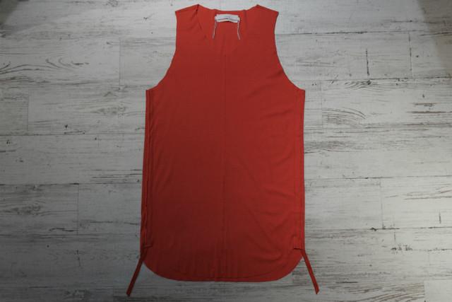 ASKYY / DRAWSTRING TANKTOP / LIMITED RED