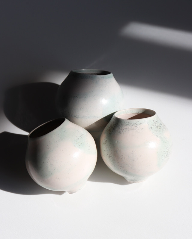 Pot. Planet S(砂漠ブルー) 植木鉢, pot, 植物, 多肉