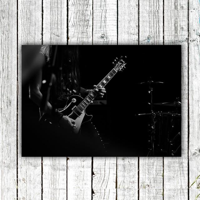 Cool guitarist / 【アートポスター専門店 Aroma of Paris】[SD-000650]