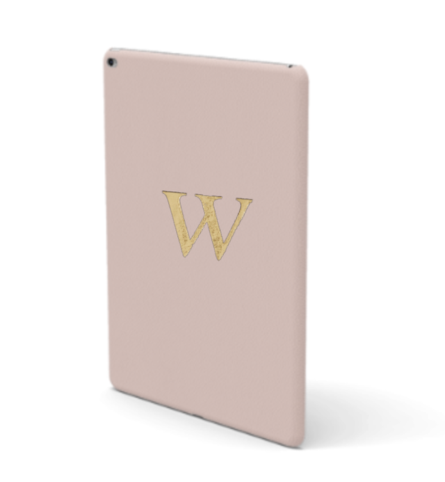 iPad Premium Smooth Leather Case (Cotton Pink)