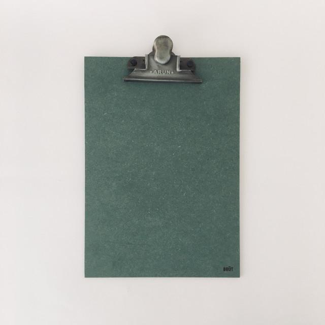 オランダのクリップボード A4(グリーン) Clip Board A4 Green