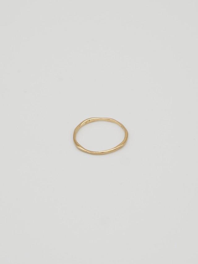 twig ring s / gold K14(再入荷)