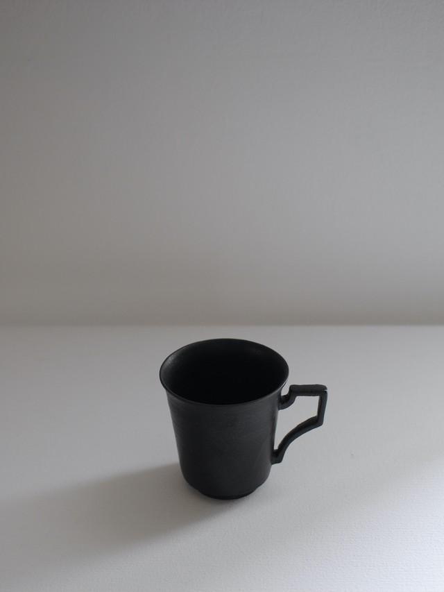 安倍太一 黒釉マグカップ