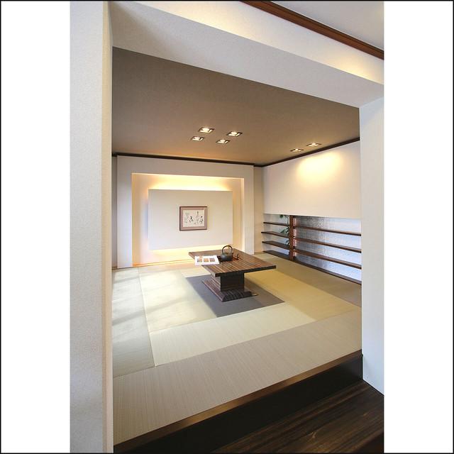 和室敷き込みタイプ 三枡 4.5畳