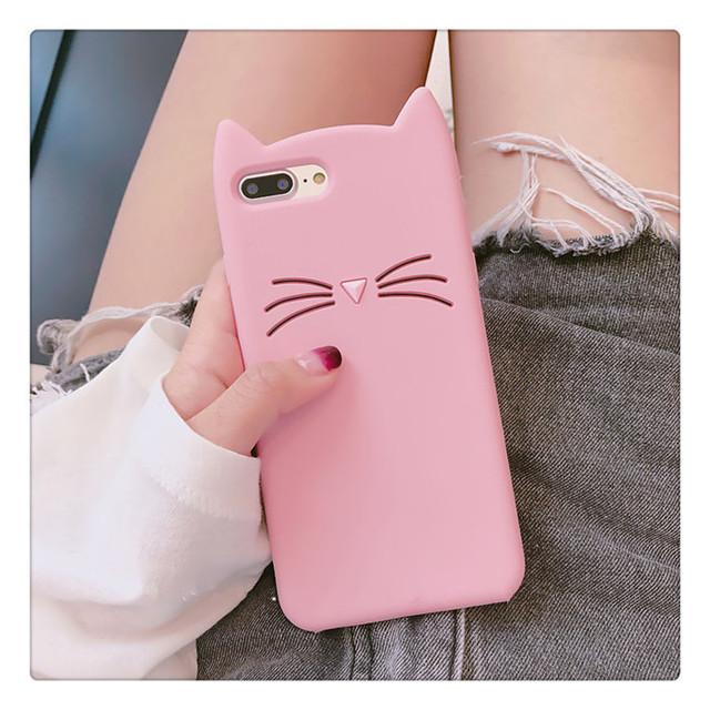 【小物】可愛い印象猫の耳iPhoneスマホケース
