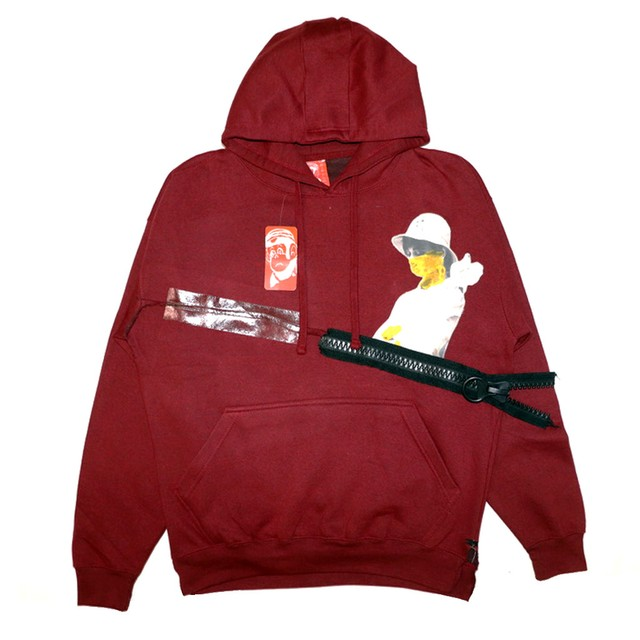 HYPER BEAM ULTRA DOVE WOMAN HALF ZIP Hoodie BURGUNDY